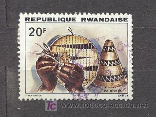 RWANDA, VANNERIE (Sellos - Extranjero - África - Otros paises)