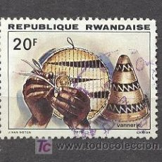 Sellos: RWANDA, VANNERIE. Lote 18523672