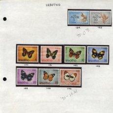 Sellos: SELLOS DE LESOTO (LESOTHO) 21 VALORES. Lote 26902179
