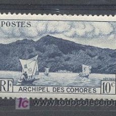 Sellos: COMORES ARCHIPEL,COLONIE FRANÇAISE, 1950-52, YVERT TELLIER 1. Lote 21197123