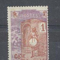 Sellos: COTE FRANÇAISE DES SOMALIS, 1915-16, YVERT TELLIER 83. Lote 21217102