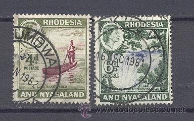 RHODESIA Y NYASSALAND, (Sellos - Extranjero - África - Otros paises)