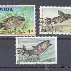 Sellos: ZAMBIA,NUEVOS, SIN CHARNELA. Lote 21839264