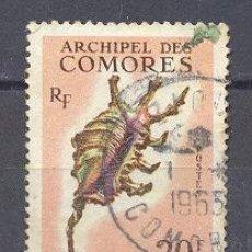 Sellos: COMORES,ARCHIPIELAGO DE -1962- USADO- YVERT TELLIER 23. Lote 25866164