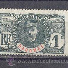 Sellos: DAHOMEY- COLONIA FRANCESA- 1906-1907- YVERT TELLIER 18. Lote 22096636