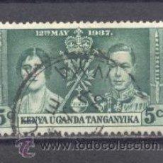 Sellos: KENYA- UGANDA- TANGANYKA, 1937 USADO. Lote 22837309