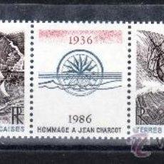 Sellos: TIERRAS AUSTRALES & ANTARTICAS FRANCESA A 94A SIN CHARNELA, BARCO, HOMENAJE A JEAN CHARCOT. Lote 26513999