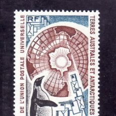Sellos: TIERRAS AUSTRALES & ANTARTICAS FRANCESA A 37 SIN CHARNELA, FAUNA, CENTENARIO U.P.U.. Lote 23931181