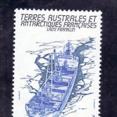 Sellos: TIERRAS AUSTRALES & ANTARTICAS FRANCESA 101 SIN CHARNELA, BARCO, -LADY FRANKLIN-. Lote 23931893