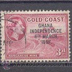 Sellos: GHANA (GOLD COAST)- USADO. Lote 24457308