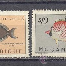 Sellos: MOZAMBIQUE- PECES. Lote 24525095