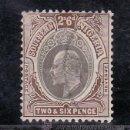Sellos: NIGERIA DEL SUR 28 USADA, EDUARDO VII. Lote 24570411