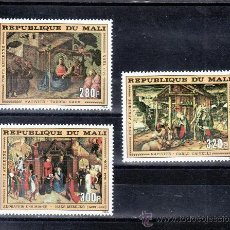 Sellos: MALI A 286/8 SIN CHARNELA, NAVIDAD, PINTURA RELIGIOSA, . Lote 24788277