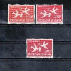 Sellos: GUINEA A 4/8 CON CHARNELA, PALOMA, . Lote 25075698