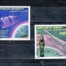 Briefmarken - djibouti a 193/4 sin charnela, espacio, conquista espacial, - 25487256