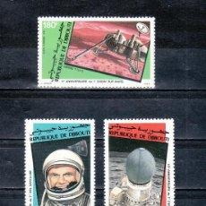 Briefmarken - djibouti a 161/3 sin charnela, conquista del espacio - 25487443
