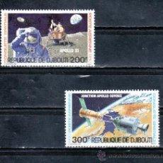 Stamps - djibouti a 138/9 sin charnela, espacio, conquista espacial, - 25487671