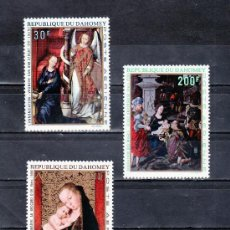 Briefmarken - dahomey a 112/5 sin charnela, pintura religiosa - 25537995
