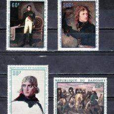 Stamps - dahomey a 101/4 sin charnela, pintura, bicentenario nacimiento de napoleon i - 25538018