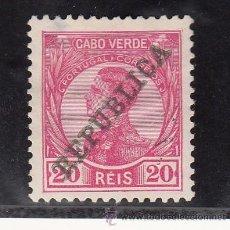 Timbres: CABO VERDE 104 SIN GOMA, SOBRECARGADO, . Lote 26031428