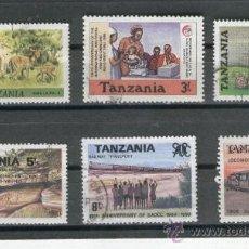 Sellos: TANZANIA. SELLOS. MODERNOS. . Lote 26156875