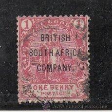 Sellos: AFRICA DEL SUR COMPAÑIA BRITANICA 43 USADA, SOBRECARGADO, . Lote 26350657