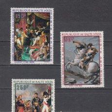 Stamps - alto volta a 70/2 sin charnela, pintura, bicentenario nacimiento de napoleon i - 26306472