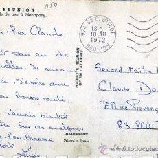 Sellos: MATASELLOS LA REUNION 1972 - STE. CLOTILDE - TP MANAPANY - FRANCIA. Lote 31658785