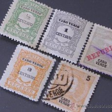 Sellos: CABO VERDE, COLONIA PORTUGESA. Lote 31747981