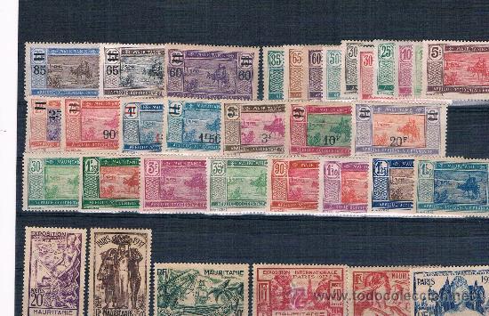 MAURITANIA (Sellos - Extranjero - África - Otros paises)