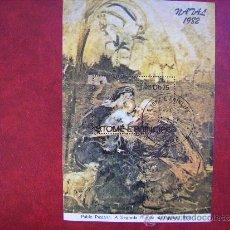 Sellos: SANTO TOME Y PRINCIPE-HOJA BLOQUE NAVIDAD 1982,PABLO PICASSO -ARTE,PINTURA.. Lote 35811528