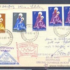 Sellos: 1960.- CONGO BELGA A AUSTRIA. Lote 36226389