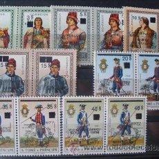 Sellos: SANTO TOMÉ E PRÍNCIPE,1977,SCOTT 450-463**,CENTENARIO UPU,COMPLETA,NUEVOS CON GOMA Y SIN FIJASELLOS. Lote 37395775