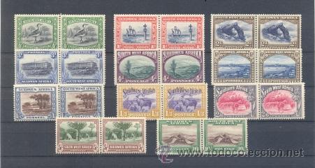 AFRICA DEL SUROESTE (Sellos - Extranjero - África - Otros paises)