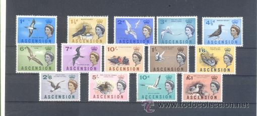 ASCENCION (Sellos - Extranjero - África - Otros paises)