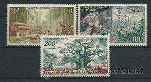 SELLOS ÁFRICA OCCIDENTAL FRANCESA (Sellos - Extranjero - África - Otros paises)