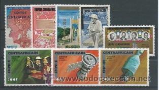 SELLOS DE CENTROAFRICA (Sellos - Extranjero - África - Otros paises)