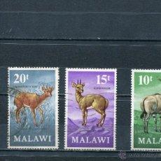 Sellos: MALAWI SELLOS AFRICA PAISES EXOTICOS FAUNA . Lote 40384534