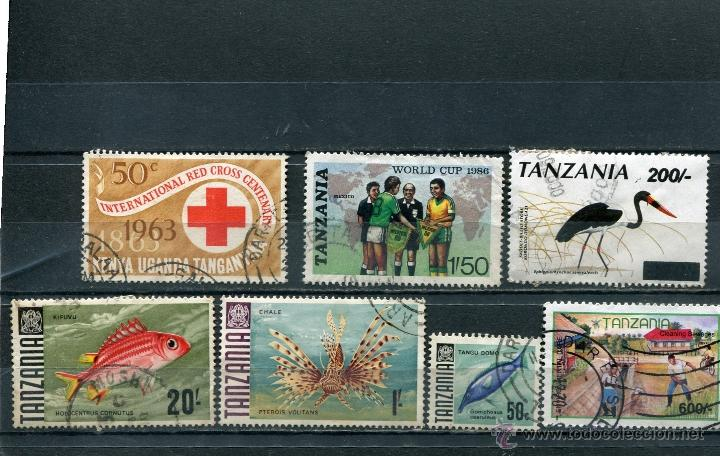 SELLOS AFRICA TANZANIA FAUNA (Sellos - Extranjero - África - Otros paises)