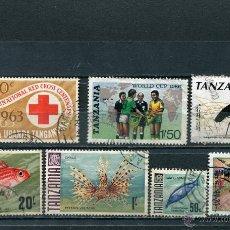 Sellos: SELLOS AFRICA TANZANIA FAUNA . Lote 40900260