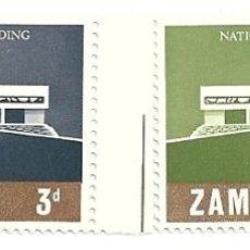 Sellos: ZAMBIA. Lote 41262374