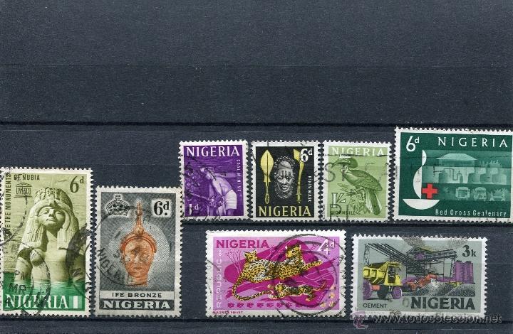 SELLOS NIGERIA (Sellos - Extranjero - África - Otros paises)