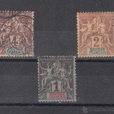 Sellos: SUDAN COLONIAS FRANCESA 3/5 USADA,. Lote 42336399