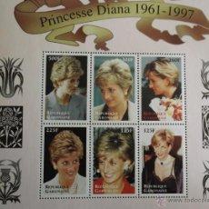 Selos: GABÓN. 948/953 HOMENAJE PRINCESA DE GALES**. 1998. SELLOS NUEVOS Y NUMERACIÓN YVERT.. Lote 42368111