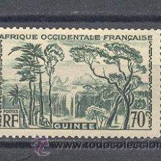 Sellos: GUINÉE- AFRICA OCCIDENTAL FRANCESA -1939 -YVERT TELLIER 161. Lote 43042407