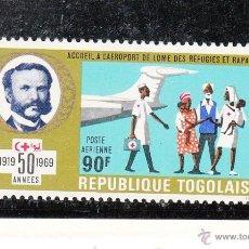 Stamps - togo a 116 sin charnela, 50 anivº cruz roja, avion, medicina, - 43391556