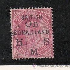 Sellos: SOMALIA BRITANICA SERVICIO 2 USADA, . Lote 43408516