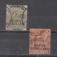 Sellos: SOMALIA BRITANICA 17/8 USADA, . Lote 43408526