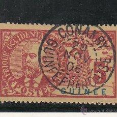Sellos: GUINEA-COLONIAS FRANCESA 47 USADA,. Lote 43635355