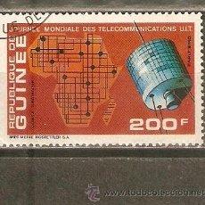Sellos: GUINEA REPUBLICA CORREO AEREO YVERT NUM. 101 USADO. Lote 44135079